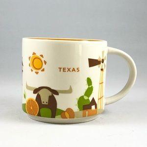 """Texas Starbucks """"You Are Here"""" Collection Mug"""